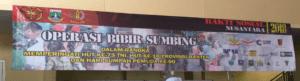 Banner Bakti Sosial Operasi Bibir Sumbing
